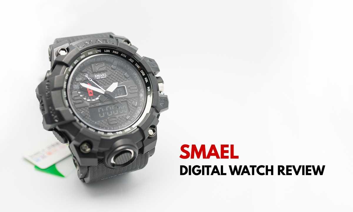 Smael Digital Watch Review Fake G Shock Infinity